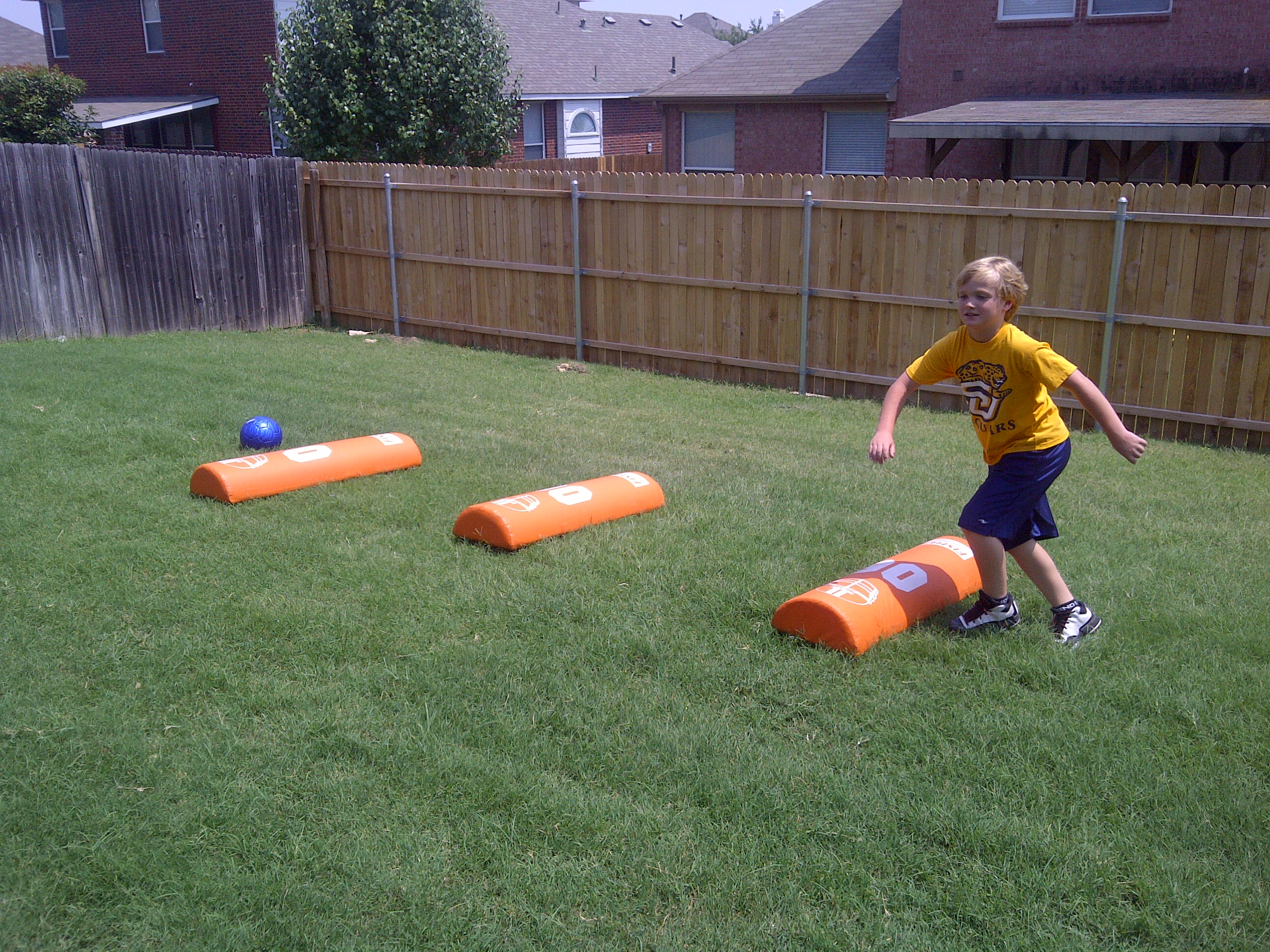 speed camps coaching youth football tips talk and plays