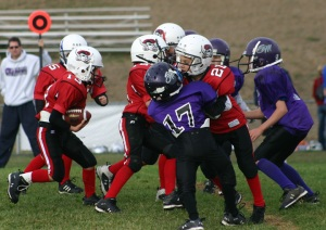 blocking in youth football