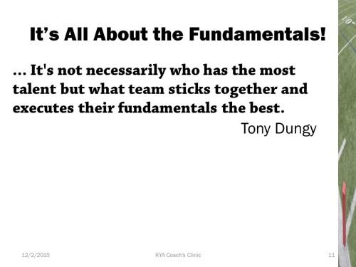 Football Fundamentals