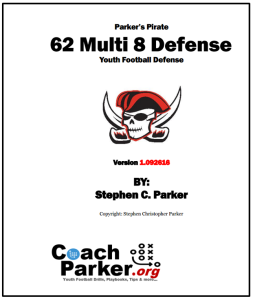 6-2 Defense - 62 Multi 8 Youth Football Defense digital ebook.