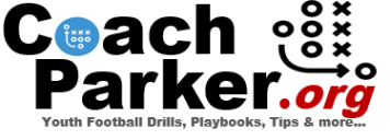 Coach Parker's blog is a great resource for youth football coaches.