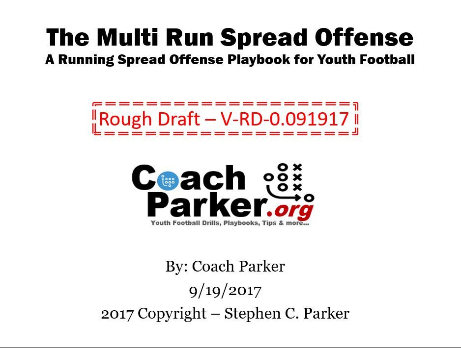 The multi run spread offense playbook for youth football coaching the multi run spread offense playbook for youth football coaching youth football tips talk and plays fandeluxe Gallery