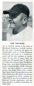 Spread Offense Book - Dutch Meyer