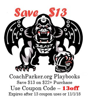 Save on Youth Football Playbooks