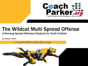 Wildcat Spread Offense Playbook